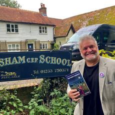 Book donation - Bodsham School, Kent1.jpg