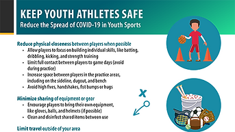 COVID-19 Youth Sports Recommendations