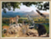 kh Peaceable Kingdom framed watermarked.