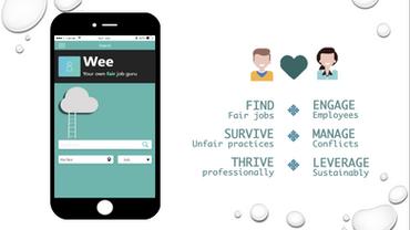 Wee - WE@WORK's app version