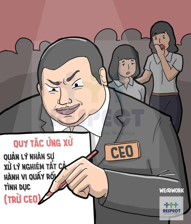 Quấy rối tình dục - mặt trái của quản trị tổ chức trong doanh nghiệp
