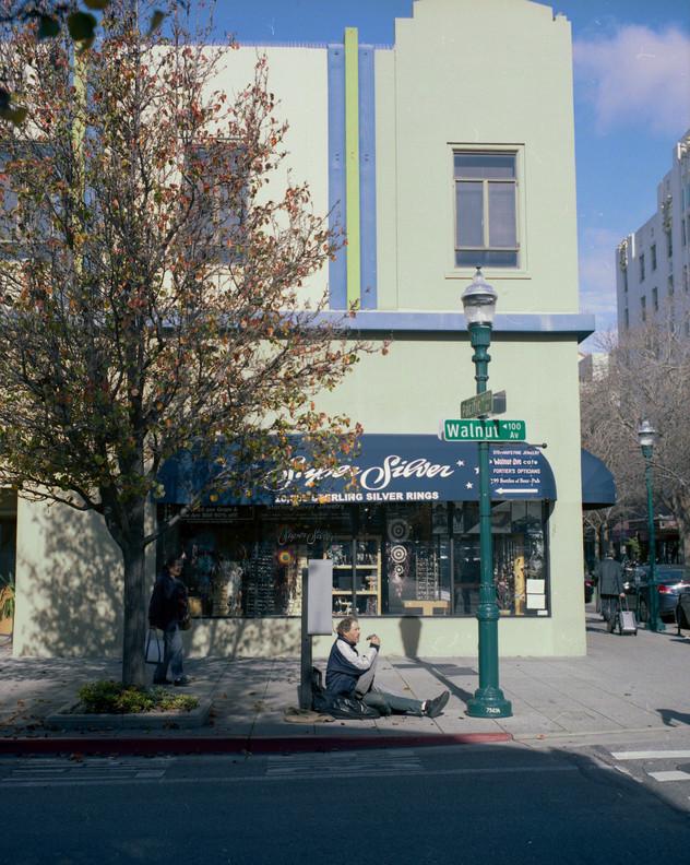 Super Silver, Pacific Ave, Santa Cruz, CA (2018)
