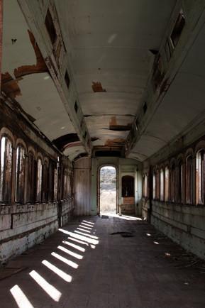 Peeling Railcar, Jacumba, CA, 2019