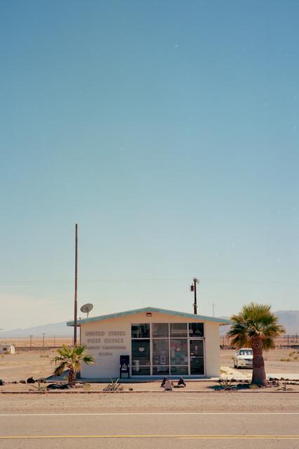 Amboy Post Office, Amboy, CA, 2017