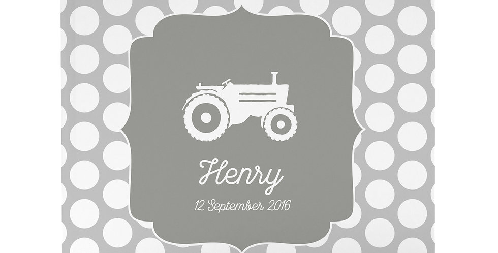 "Babytagebuch ""Traktor"""