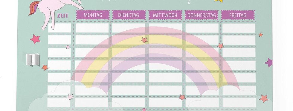 """Stundenplan """"Einhorn"""""""