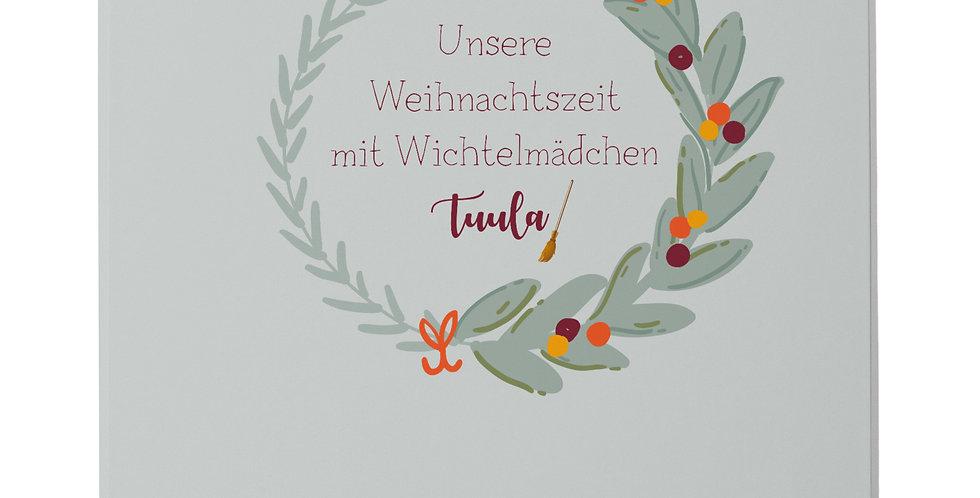 """Wichtelordner """"Weihnachtszeit"""""""