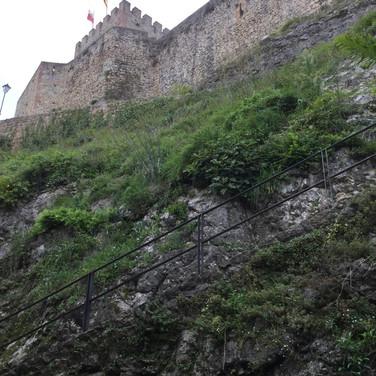 Castle at San Vincente de la Barquera