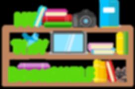 My Tiny Bookshelfs logga.