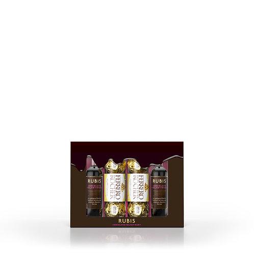 Rubis Chocolate Wine Ferrero Gift Pack 2 x 5cl 15% ABV