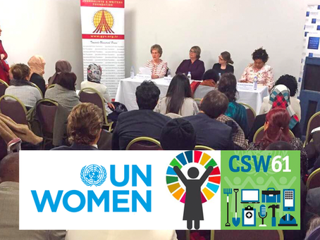 """""""Breaking the Cycle"""" Panel at the U.N. CSW61"""