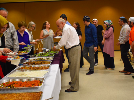 Interfaith Iftar at Congregation Beth Torah