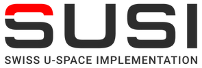 SUSI Swiss U-Space Implementation logo - Dpendent network