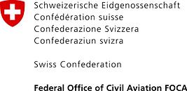 Federal Office of Civil Aviation FOCA logo - Dpendent government partner