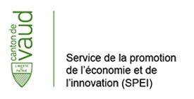 Service de la promotion de l'économie et de l'innovation (SPEI) logo - Dpendent grant