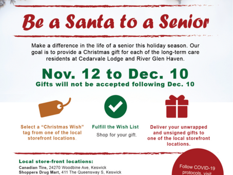 Be Santa to a Senior!