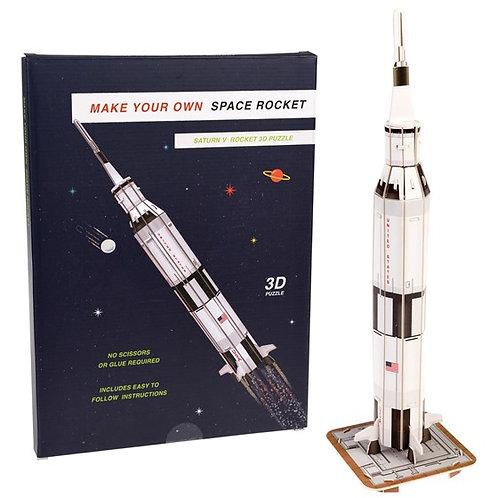 SPACE ROCKET 3D PUZZLE