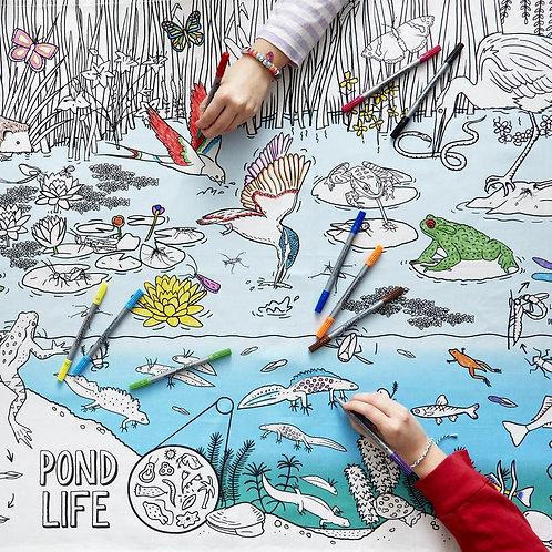 Pond Life tablecloth