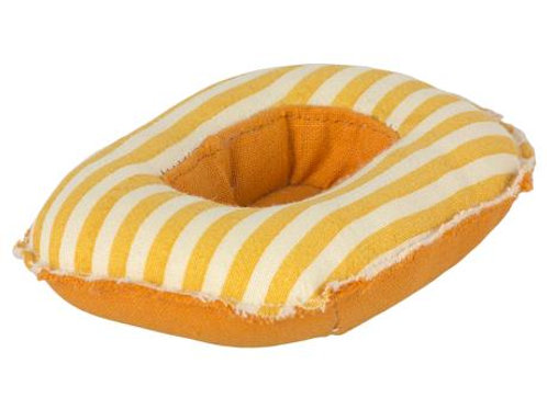 RUBBER BOAT, SMALL MOUSE - YELLOW STRIPE