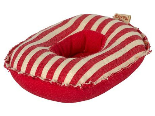 RUBBER BOAT, SMALL MOUSE - RED STRIPE