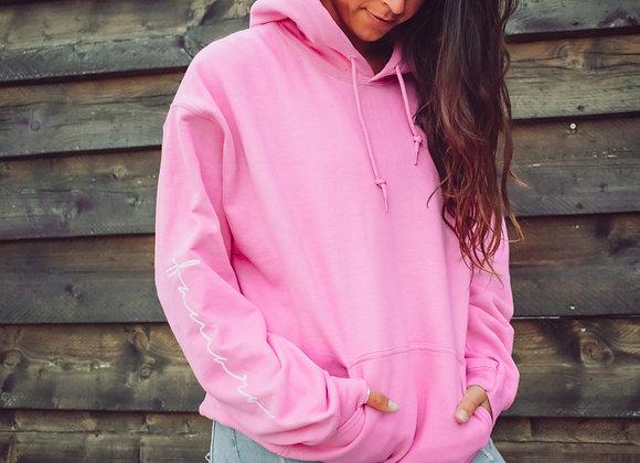 Pink FAMARA Hoodie