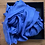 Thumbnail: Blue Silk Linen Blend Scarf