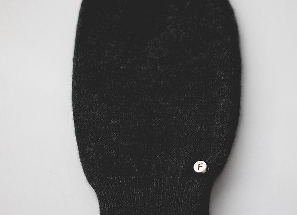Black Cashmere & Merino Blend Gloves