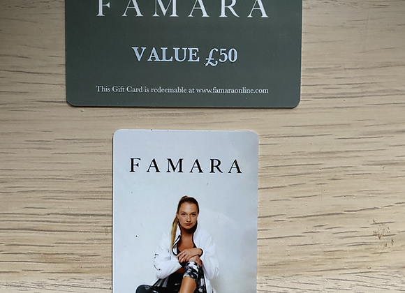 Gift Cards -£50 (CB)