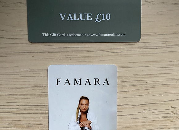 Gift Cards -£10 (LL)