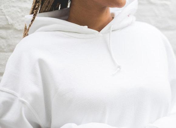 R2F - White FAMARA Hoodie