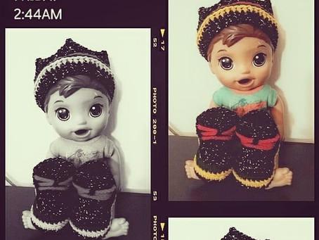 Crochet Infant Crown