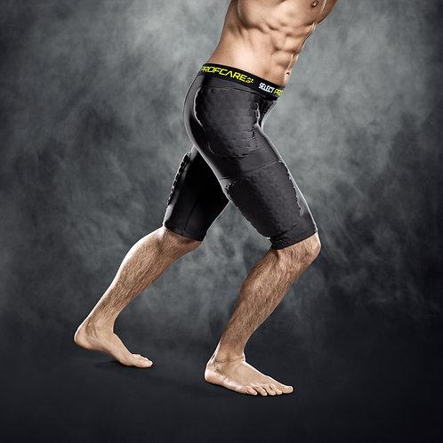 Kompression shorts med vaddering