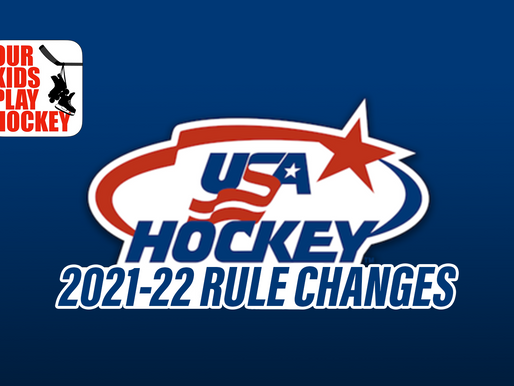 2021-2022 USA Hockey Rule Changes