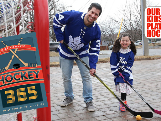 Our Kids Play Hockey: An Interview With Dr. Mike Commito, PhD