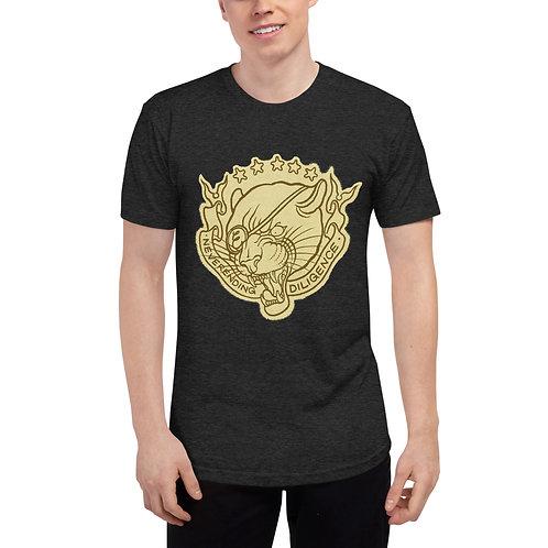 """Neverending Diligence"" Unisex Tri-Blend Track Shirt"