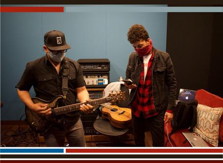 """Brandon Lewis Returns to Studio to Record """"Lean On Me"""""""