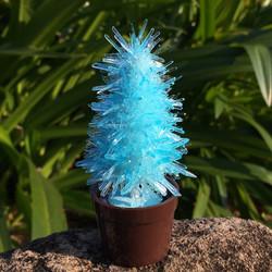 x'mas tree-blue
