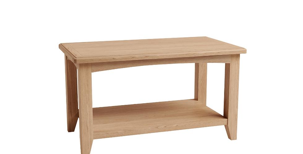 Geo Oak Small Coffee Table
