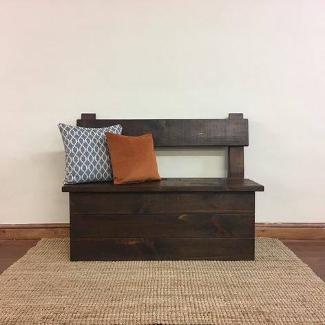 Plank Storage Bench