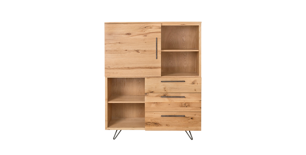 New-Oak Large Bookcase