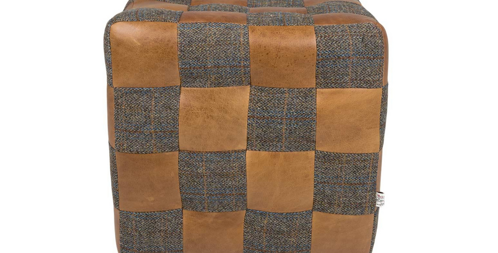 Patchwork Cube - Brown Cerato & Uist Night
