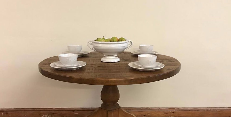 Plank 4ft Round Dining Table