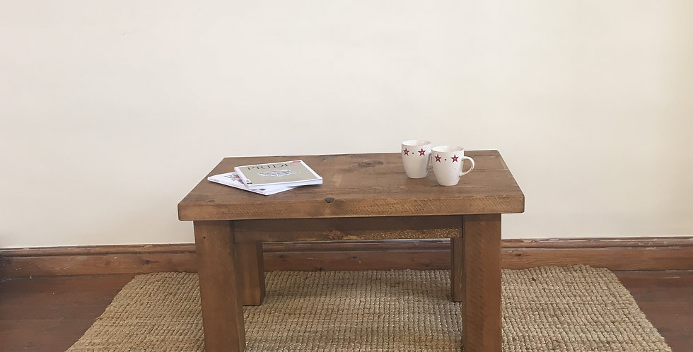 Plank 2ft x 2ft Coffee Table