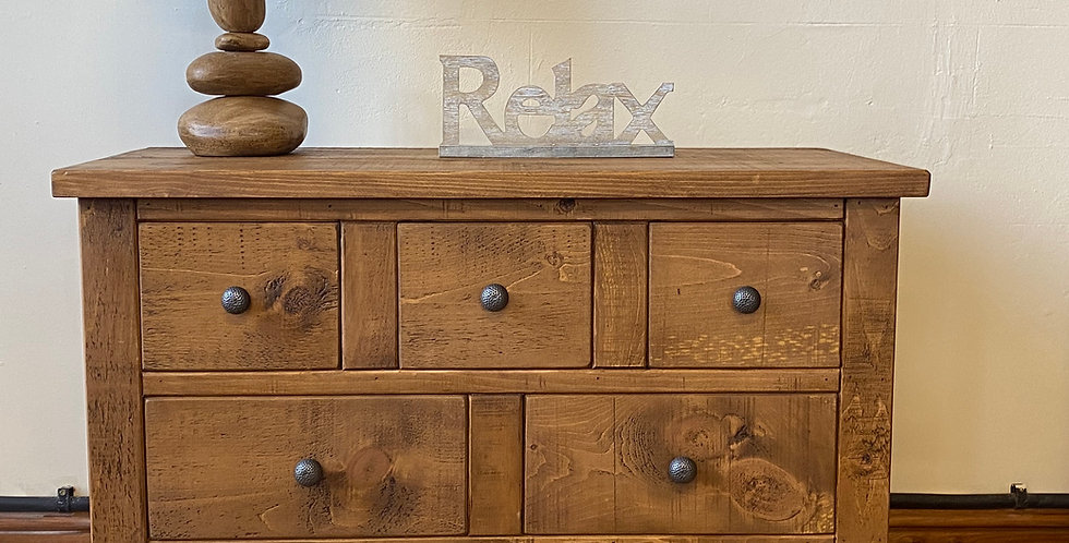 Plank 6 Drawer Chest