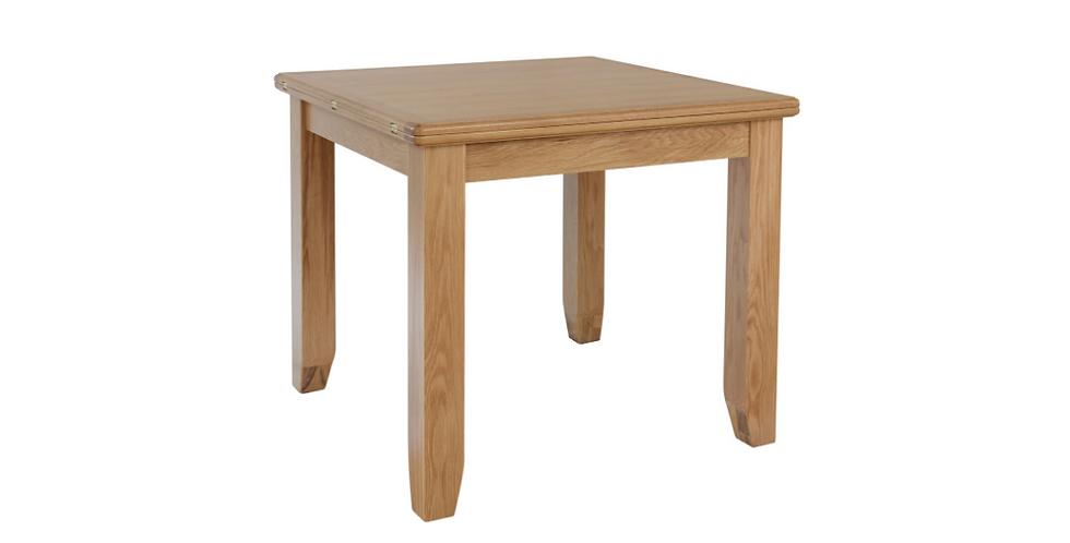 Geo Oak Flip Top Table