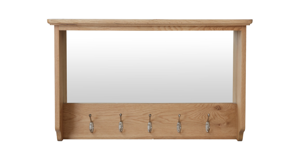 Geo Oak Hall Bench Top
