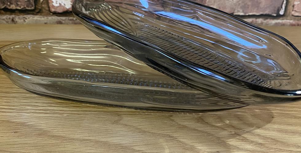 Corn of the Cob Dish - Set of 2
