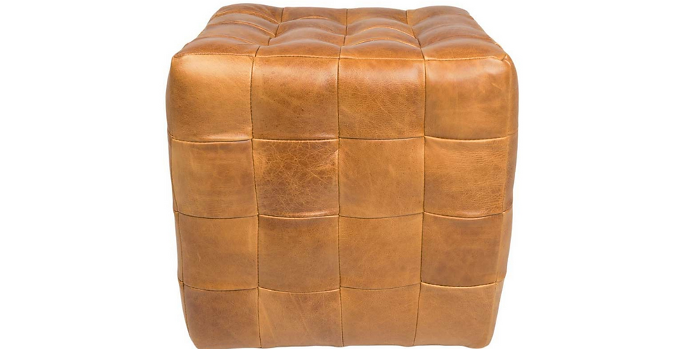 Patchwork Cube - Brown Cerato