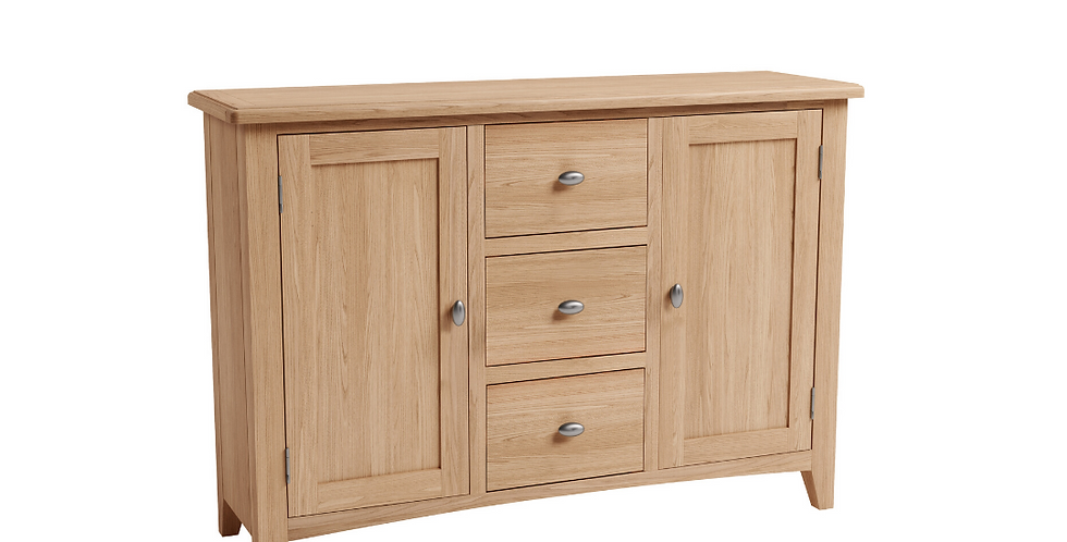 Geo Oak Large Sideboard