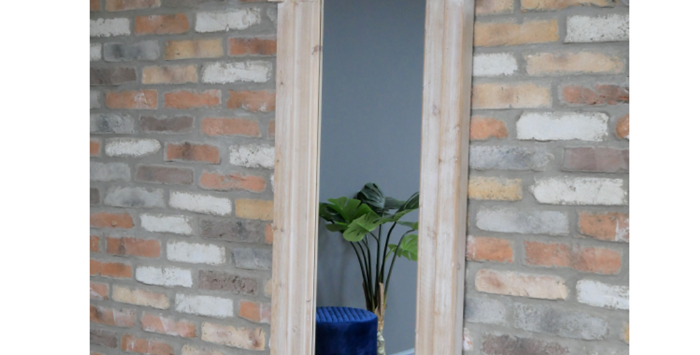 Large Wooden Arch Mirror